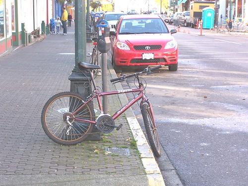 post parking p