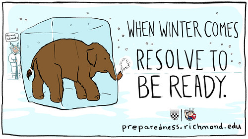 Winter Weather - Resolve to be Ready
