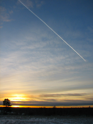 sunset airplane aeroplane penttilänmäki