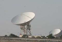 wind(0.0), power supply(0.0), stadium(0.0), machine(1.0), radio telescope(1.0), electronic device(1.0), electricity(1.0), antenna(1.0),