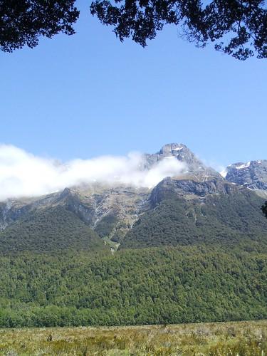 Mountains over Mirror Lake