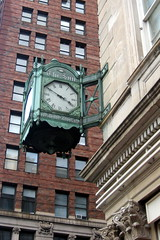 NYC - Civic Center: The Sun Clock