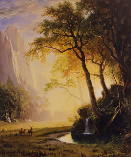 Copy of Bierstadt's