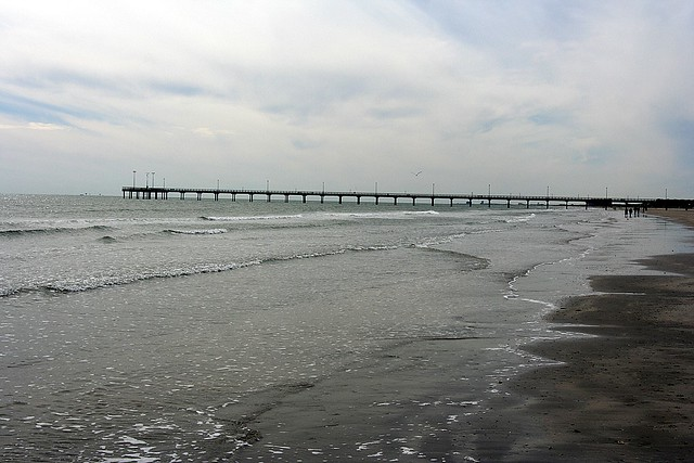 Horace caldwell fishing pier flickr photo sharing for Port aransas fish cam