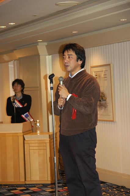 Photo:萩本 順三さん, IT技術者新春の集い 2007, サンプラザ By yuichi.sakuraba