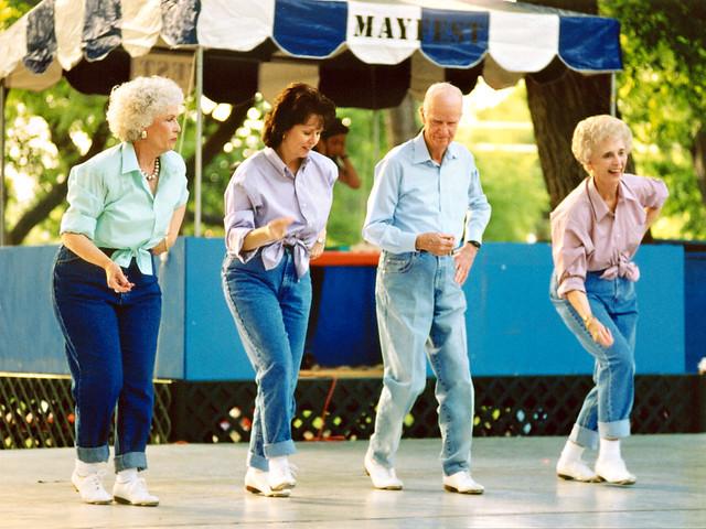 Seniors Dancing, Mayfest | Flickr - Photo Sharing!