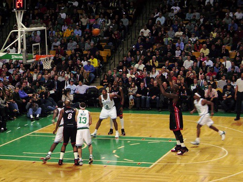 Celtics Game at the Boston Garden