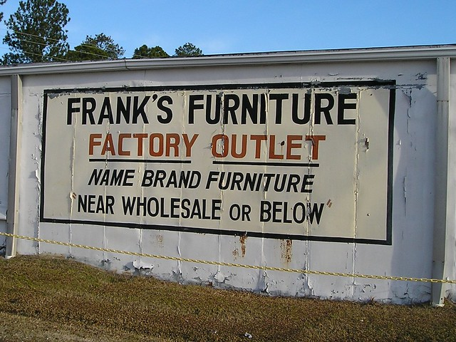 Frank 39 s furniture factory outlet flickr photo sharing for Furniture factory outlet