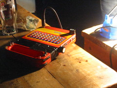 Still life with speak and spell