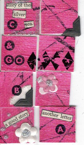 pink n black inchies