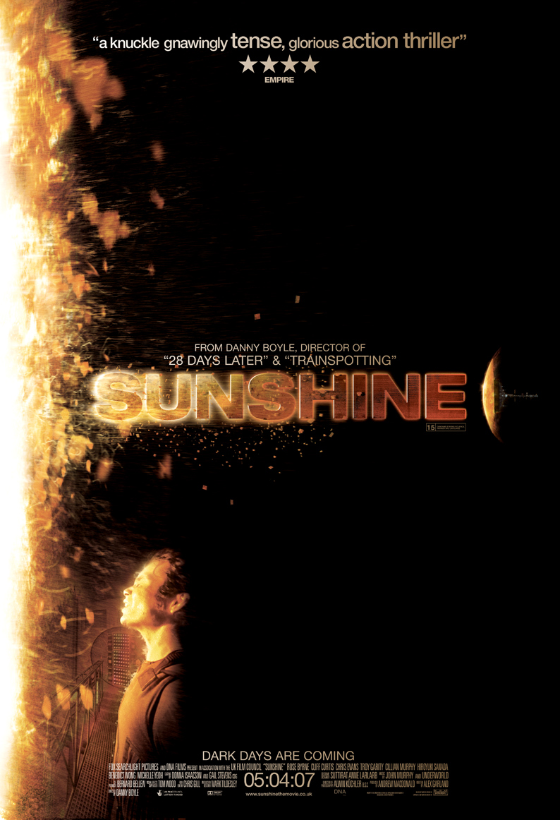 UK 'Sunshine' poster makes my face dissolve | Solace in Cinema