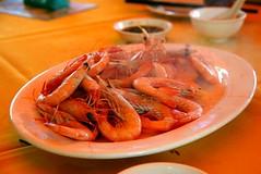 shrimp(1.0), seafood boil(1.0), dendrobranchiata(1.0), caridean shrimp(1.0), fish(1.0), seafood(1.0), invertebrate(1.0), food(1.0), scampi(1.0), dish(1.0), cuisine(1.0),