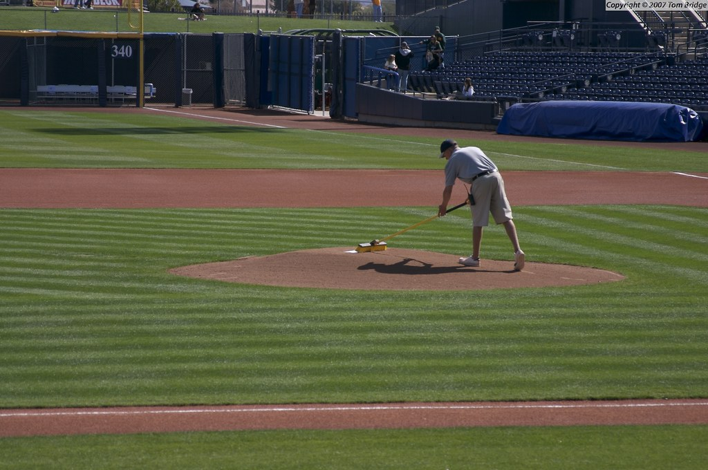 Prepping the Mound
