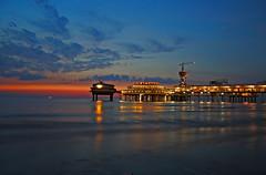The Hague sunset