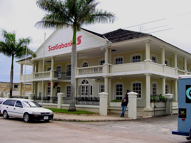 Scotiabank head office jamaica road conditions