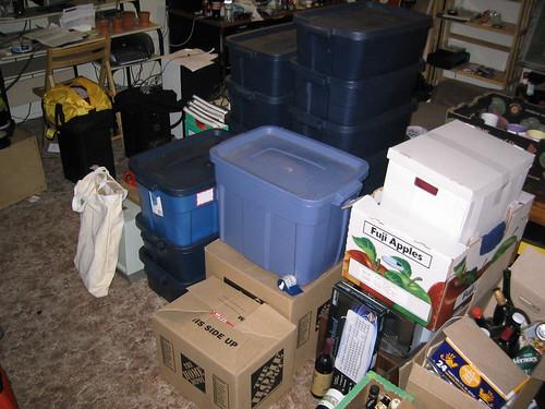 Pakowanie rzeczy podczas przeprowadzki