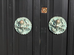 Octopus Doorknobs