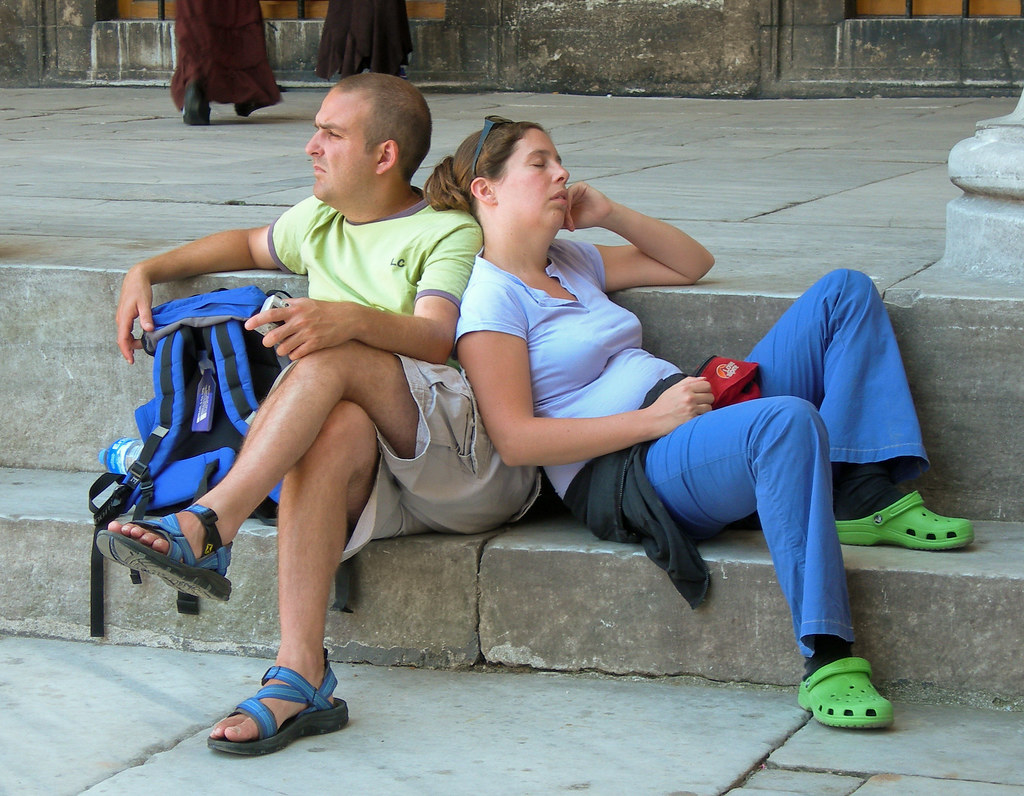 tourists in istanbul 3