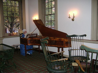 Image of City Tavern. 2005 travel music philadelphia phl harpsichord 2000s zischenorg vxla