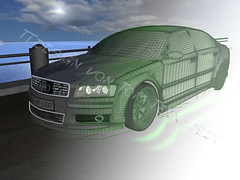 Audi A8 Cinema 4D - TTdesign