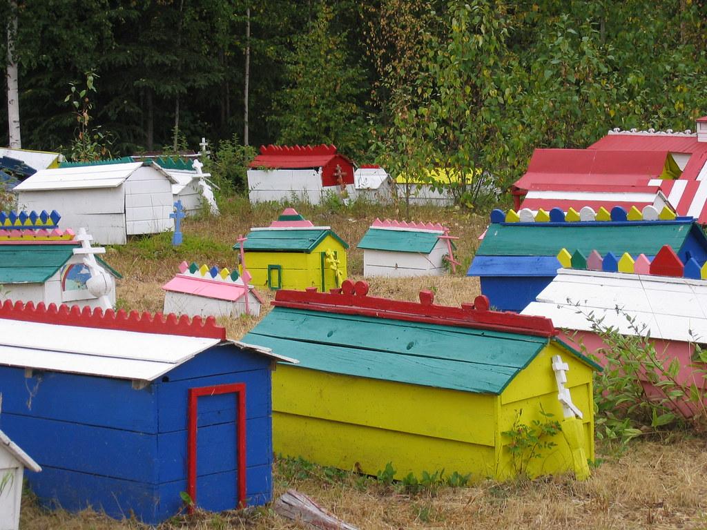 Spirit houses