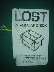 LOST: Cardboard Box by jaqian