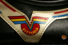 vittoria vintage leather cycling shoes    MG 9016