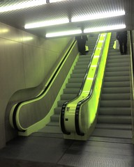 Yellow escalator #2