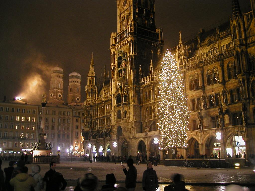 New Year's Eve on Marienplatz, Munich