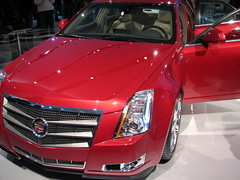 cadillac xlr-v(0.0), automobile(1.0), automotive exterior(1.0), executive car(1.0), cadillac sts-v(1.0), cadillac(1.0), vehicle(1.0), automotive design(1.0), cadillac sts(1.0), cadillac cts(1.0), bumper(1.0), land vehicle(1.0), luxury vehicle(1.0),