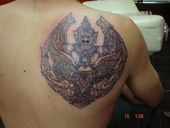 karuda tattoo (Dejavu Tattoo Studio Chiangmai Thailand)