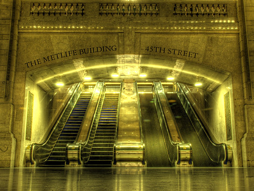 Grand Central escalators