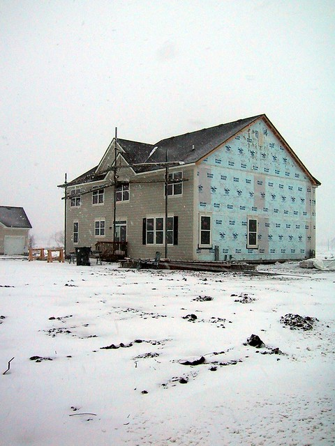 Siding On Back
