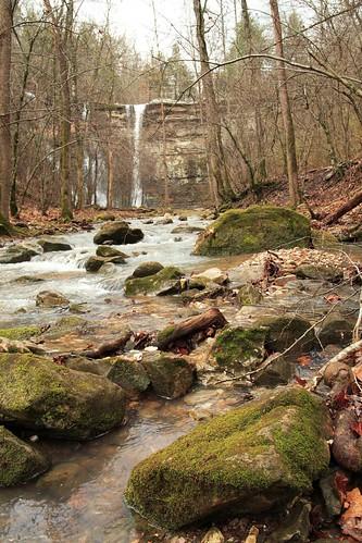 waterfall hike falls national waterfalls arkansas triple ozark triplefalls