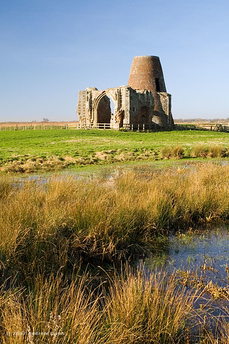 St Benet's Abbey across the reeds