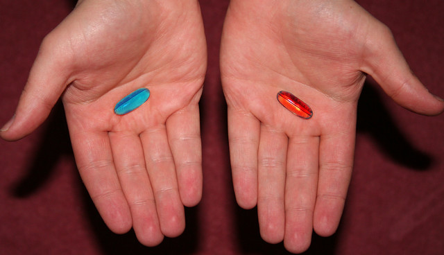 Blue pill or the red pill | Flickr - Photo Sharing!
