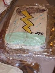 lightning cake