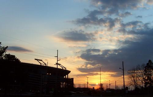 sunset nature clouds campus spring urbannature