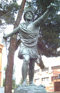 Vasco Núñez de Balboa 의 이미지. madrid españa bronze spain europa europe esculturas statues estatuas sculptures conquistadores bronce sculpturesinmadrid vasconúñezdebalboa enriquepérezcomendador