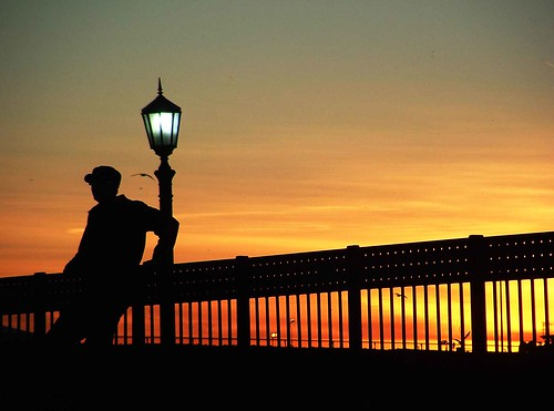 sunset silhouette cleveland stranger peopleschoice explored impressedbeauty diamondclassphotographer flickrdiamond