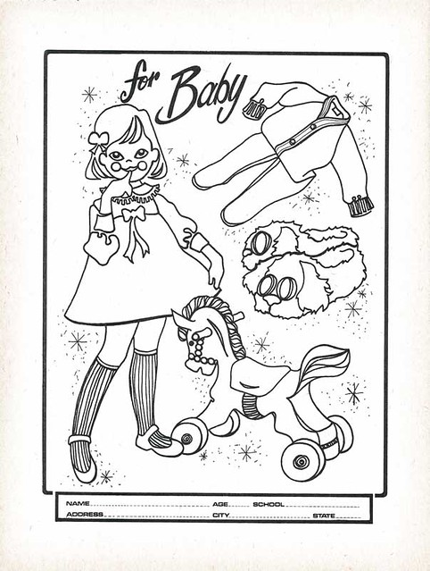 Hills Department Store Coloring Book Contest Page Flickr Photo Sharing