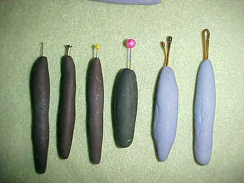 Blunt Clay Tools I Made