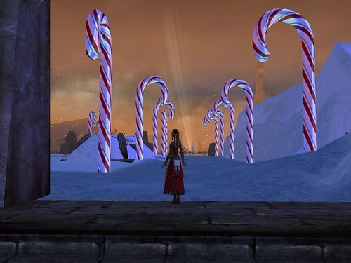 Sharzad finds the candy canes