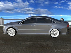 model car(1.0), automobile(1.0), automotive exterior(1.0), executive car(1.0), family car(1.0), wheel(1.0), vehicle(1.0), rim(1.0), volvo s80(1.0), bumper(1.0), sedan(1.0), land vehicle(1.0), luxury vehicle(1.0),