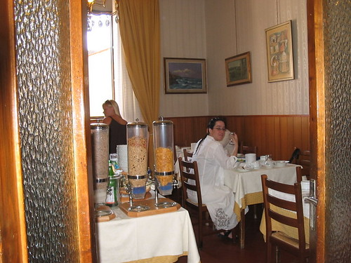 Breakfast Room in Hotel Alessandra