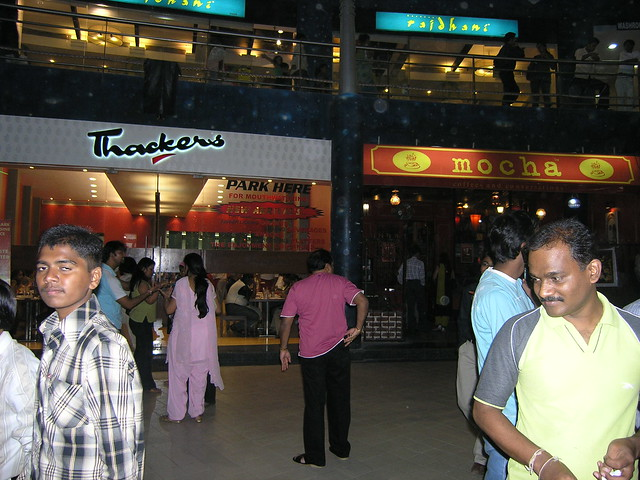 Popular eateries like Thackers, Mocha and Rajdhani in the Nirmal Lifestyle Mall in Mulund (West), Mumbai
