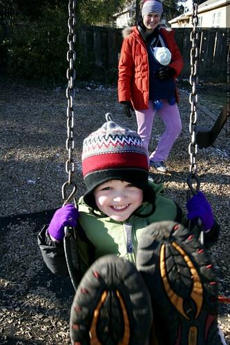 on the swings    MG 9099
