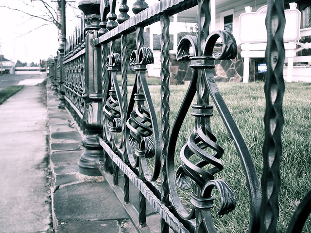 Wrought iron fence and gates models from fence-depot.com