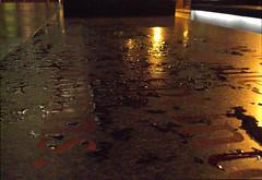 dark and wet