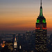 Empire State Building at Sunset by Alex Hedger